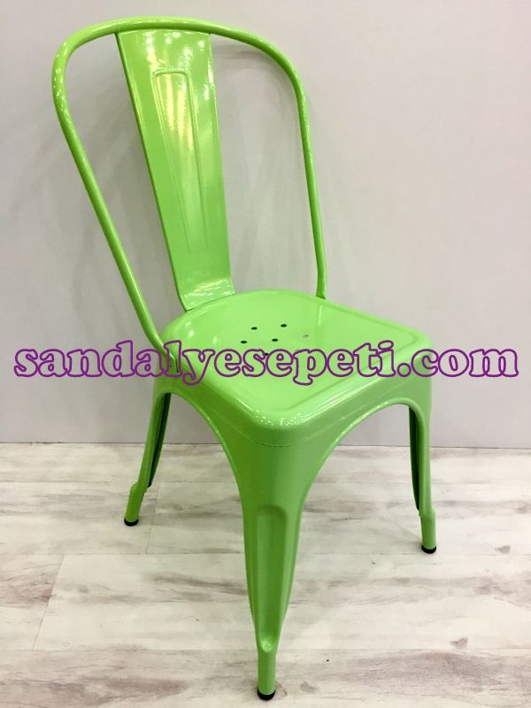 Tolix Sandalye Yeşil